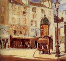 Грант Вуд. Парижская улица