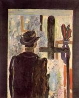 Жорж Брак. Мужчина в шляпе