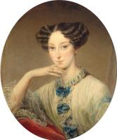 Кристина Робертсон. Портрет великой княгини Марии Александровны. 1850 ок.