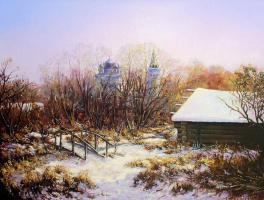 Roman Fedorovich Fedosenko. November, the first snow