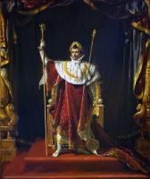 Жак-Луи Давид. Портрет Наполеона в облачении императора