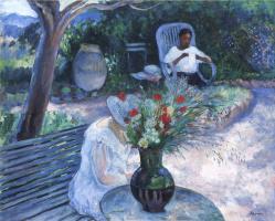 Henri Lebasque. Garden in Prades