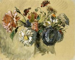 A bouquet of wild flowers