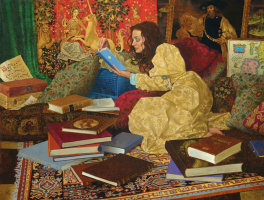 James Christensen. Her favorite room