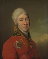 Дмитрий Григорьевич Левицкий. Портрет И.В.Лопухина. 1803-1804