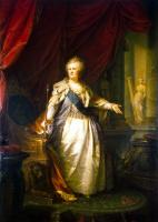 Иоганн Баптист Лампи (старший). Портрет Екатерины II