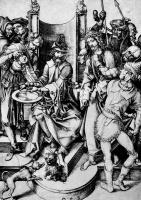 Martin Schongauer. Christ before Pilate