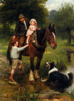 Джон Артур. Ребенок на коне