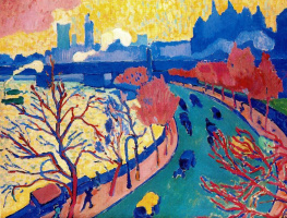 Andre Derain. Bridge To Charing Cross
