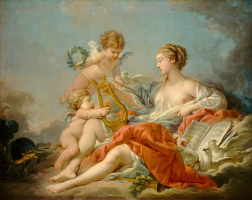 Francois Boucher. Allegory of Music Art
