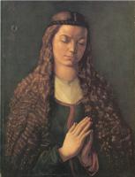 Альбрехт Дюрер. Девушка с распущенными волосами