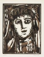 Морис де Вламинк. Портрет женщины