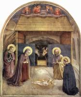 Фра Филиппо Липпи. Рождение Христа