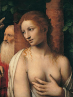 Бернардино Луини. Susanna e i vecchioni