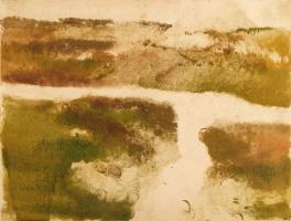 Эдгар Дега. Горный пейзаж