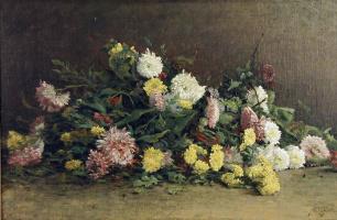 Альберт Габриэль Риголот. Цветы