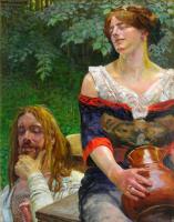 Jacek Malchevsky. Christ and the Samaritan woman