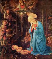 Филиппино Липпи. Мария и дитя