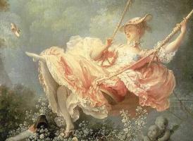 Жан Оноре Фрагонар. Счастливые возможности качелей (фрагмент)