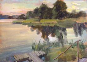 Valery Frolov. Вечер у реки