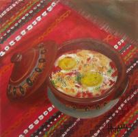 Natalia Emilovna Vodenicharova. Guice-shopski style. (Bulgarian NAT. kitchen)