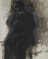 Вильгельм Хаммерсхёй. Нумизмат (Портрет Свена, брата художника). Эскиз