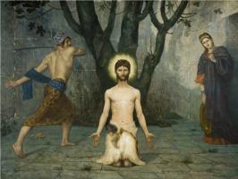 Пьер Сесиль Пюви де Шаванн. Усекновение главы Иоанна Крестителя