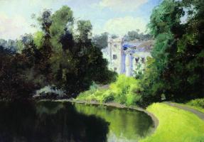 Василий Дмитриевич Поленов. Пруд в парке. Ольшанка