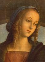 Пьетро Перуджино. Мадонна между Святым Иоанном Крестителеми Святым Себастьяном
