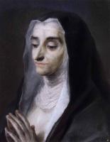 Розальба Каррьера (Каррера). Портрет сестры Марии Катарины