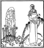 """Кей Нильсен. Вдовий сын. Иллюстрация к сборнику сказок """"На восток от солнца, на запад от луны"""""""