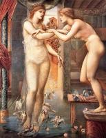 Эдвард Коли Бёрн-Джонс. Пигмалион и статуя: боги благословляют