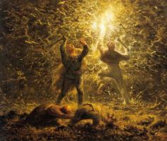 Жан-Франсуа Милле. Ночная охота на птиц