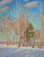 Евгений Александрович Казанцев. Birches. March.
