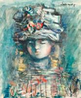 Александр Григорьевич Тышлер. Портрет девушки
