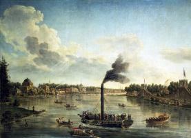 Тимофей Алексеевич Васильев. Вид островов в Санкт-Петербурге