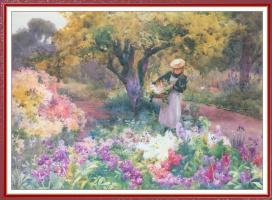 Милдред Энн Батлер. Сбор цветов