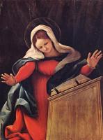 Лоренцо Лотто. Дева Мария