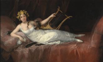Francisco Goya. The Marquis de Santa Cruz