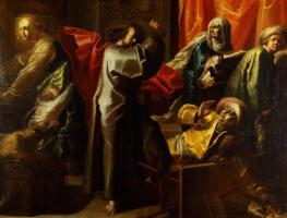 Ян ван дер Венне. Изгнание торгующих из храма