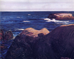 Джон Слоан. Море