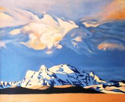 Mystic sky over Tibet