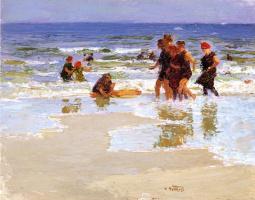 Эдвард Генри Поттаст. Берег моря
