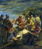 Паоло Веронезе. Пригвождение к кресту