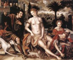 Ян Массус. Давид и Вирсавия