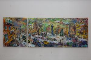 Mayakovka. Triptych
