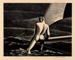 Rockwell Kent. The wind