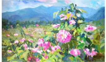 "Victoria Korkishko. ""Crimean rose"""