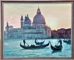 "LEMI Abaev. ""St. Mary's Cathedral - Evening Venice"""