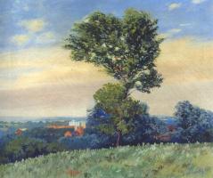 Джудит Энн Гриффит. Пейзаж с деревом